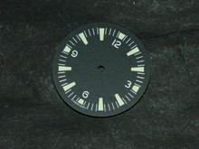 Sterile Seamaster 300 Dial for DG 2813 Number@12 Green Superluminova