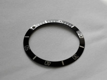 Bezel 1680 5512 5513-2 1665 Submariner Black / Silver Bezel Insert to fit Rolex