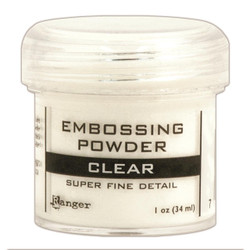 Ranger Super Fine Embossing Powder, Clear -