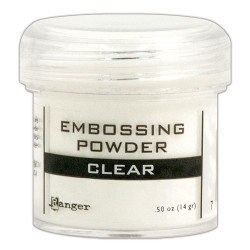 Clear, Ranger Embossing Powder -