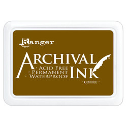Coffee, Ranger Archival Ink Pad -