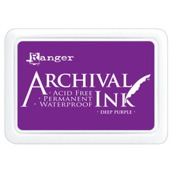 Deep Purple, Ranger Archival Ink Pad -