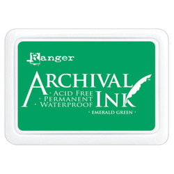 Emerald Green, Ranger Archival Ink Pad -