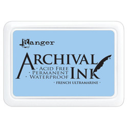 French Ultramarine, Ranger Archival Ink Pad -