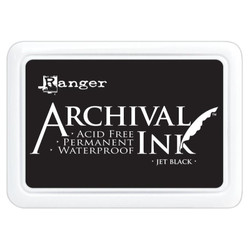 Jet Black, Ranger Archival Ink Pad -