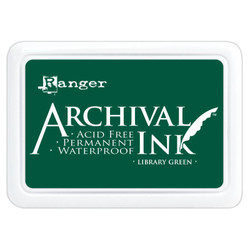 Library Green, Ranger Archival Ink Pad -