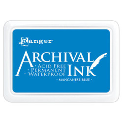 Manganese Blue, Ranger Archival Ink Pad -