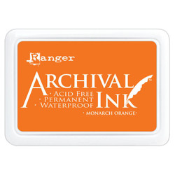 Monarch Orange, Ranger Archival Ink Pad -