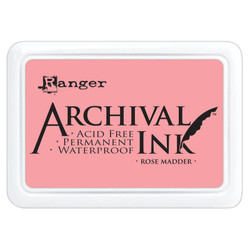 Rose Madder, Ranger Archival Ink Pad -