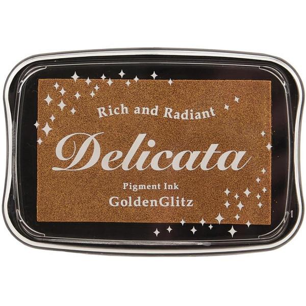 Delicata Ink Pad, Golden Glitz -