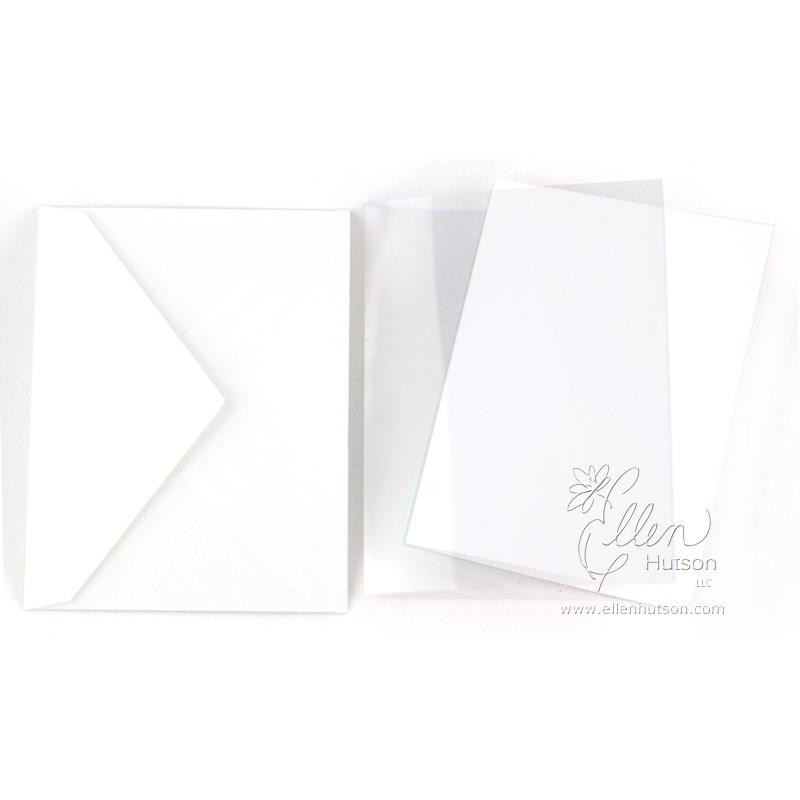 Acetate, Hero Arts Folded Cards -
