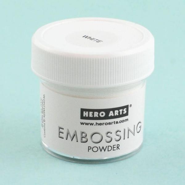 White, Hero Arts Embossing Powder -