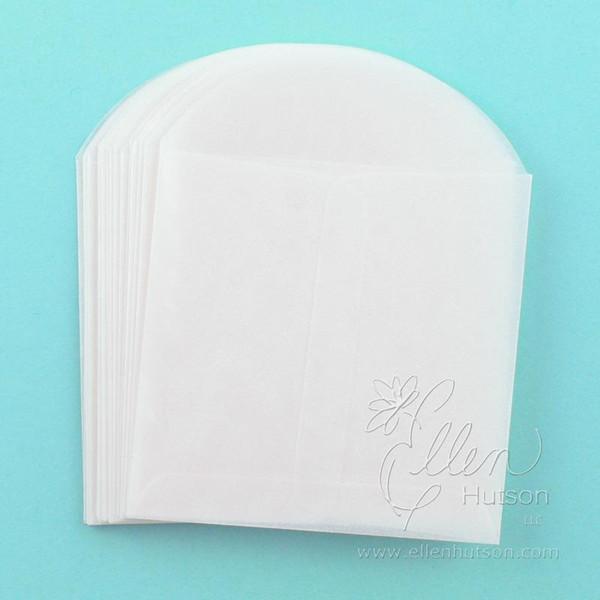 3.5x3.5, Paper Accents Glassine Envelopes -