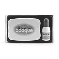StazOn Opaque Ink, Cotton White -