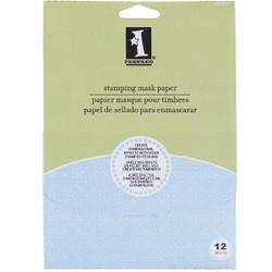 Stamping Mask Paper - 5x7 - 12 pk, Inkadinkado -