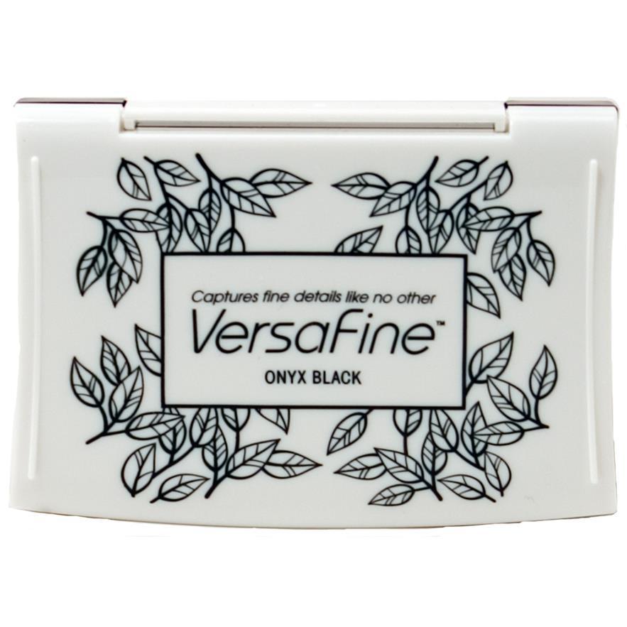 VersaFine Ink Pad, Onyx Black -