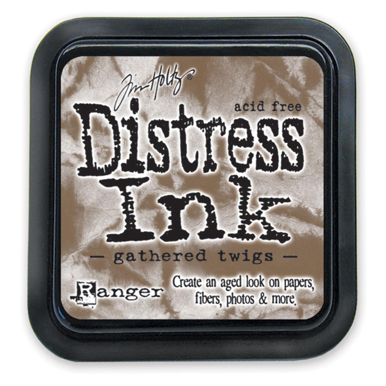 Gathered Twigs, Ranger Distress Ink Pad -