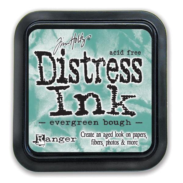 Evergreen Bough, Ranger Distress Ink Pad -
