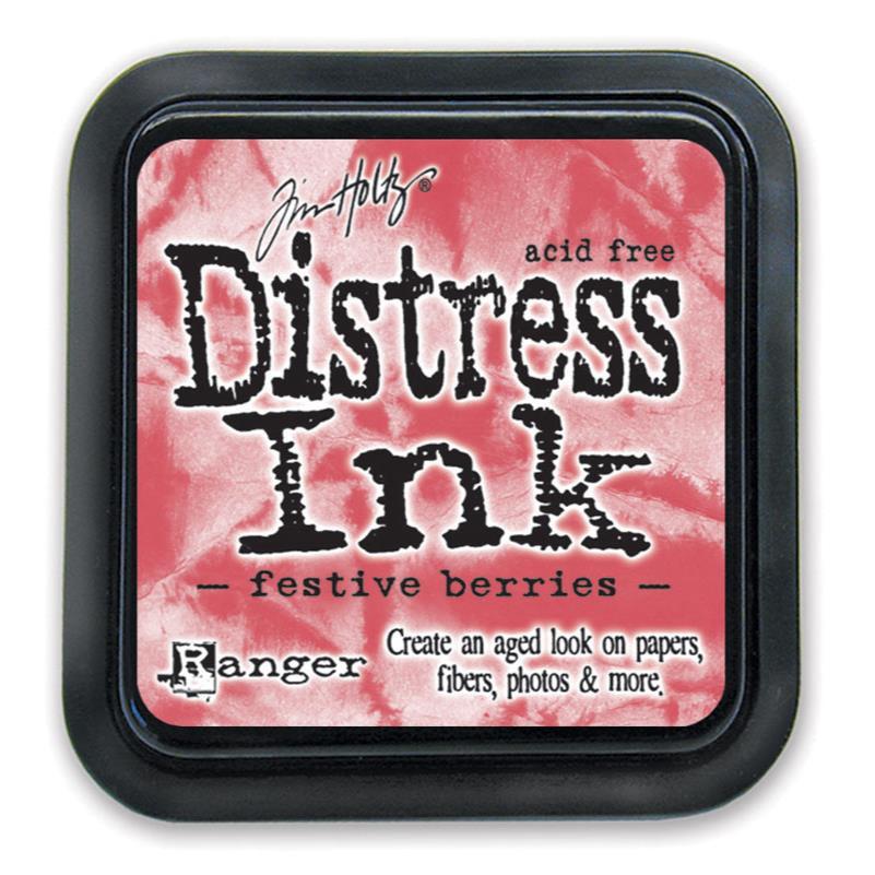 Festive Berries, Ranger Distress Ink Pad -