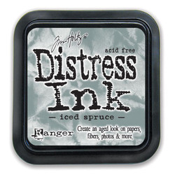 Iced Spruce, Ranger Distress Ink Pad -