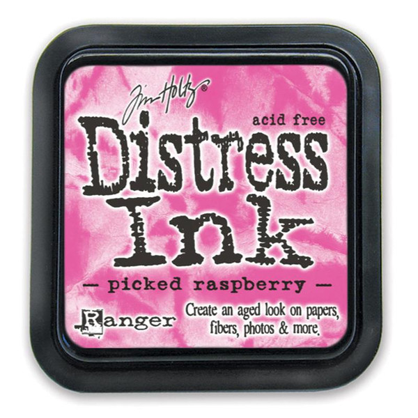 Picked Raspberry, Ranger Distress Ink Pad -