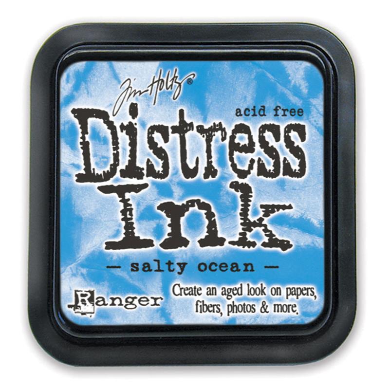 Salty Ocean, Ranger Distress Ink Pad -