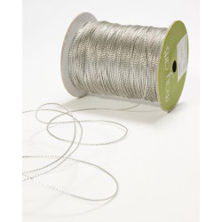 String by the Spool - Metallic Silver, May Arts -