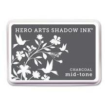 Hero Arts Shadow Ink, Mid-Tone Charcoal - 294777072296