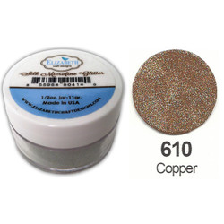 Elizabeth Craft Designs Silk Microfine Glitter, Copper - 855964004195