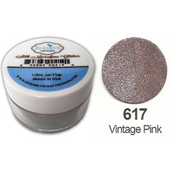 Elizabeth Craft Designs Silk Microfine Glitter, Vintage Pink - 855964004232