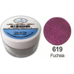 Elizabeth Craft Designs Silk Microfine Glitter, Fuchsia - 855964004263