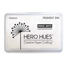 Unicorn White, Hero Arts Pigment Ink Pad -