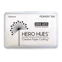 Unicorn White, Hero Arts Pigment Ink Pad -