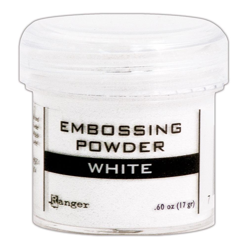 White, Ranger Embossing Powder -