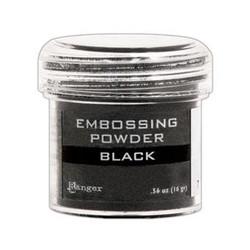 Black, Ranger Embossing Powder -