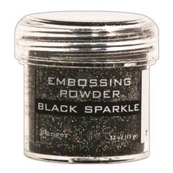 Black Sparkle, Ranger Embossing Powder -