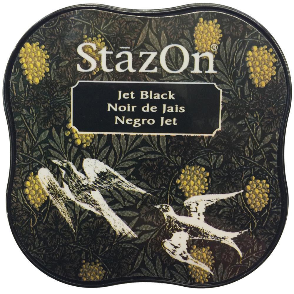 StazOn Midi Pad, Jet Black -