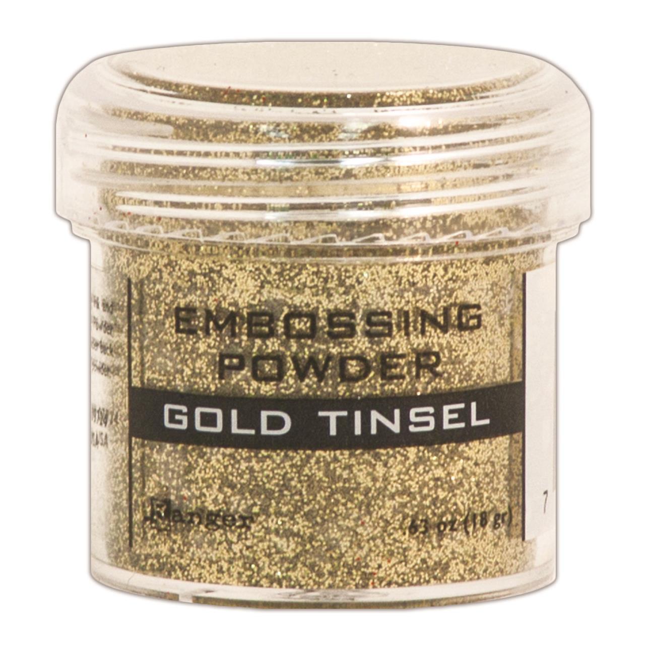 Tinsel - Gold, Ranger Embossing Powder -