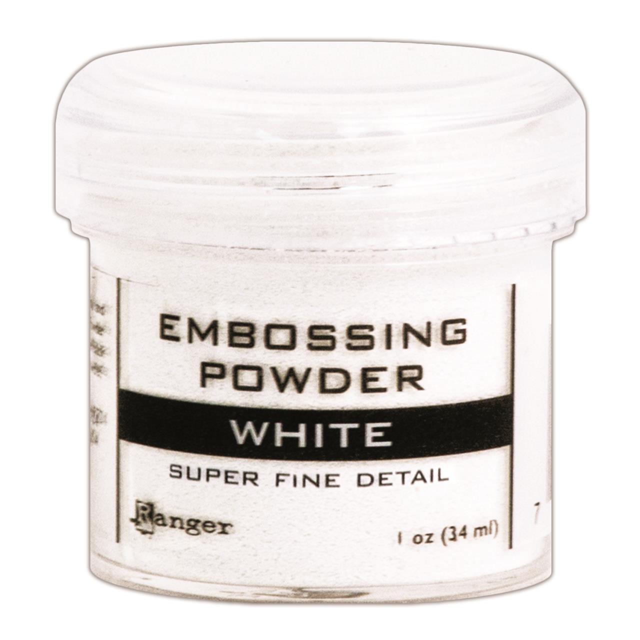 Ranger Super Fine Embossing Powder, White -