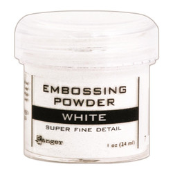 Ranger Super Fine Embossing Powder, White -
