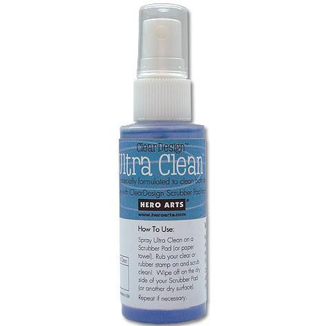Ultra Clean, Hero Arts Clear Stamp Cleaner -