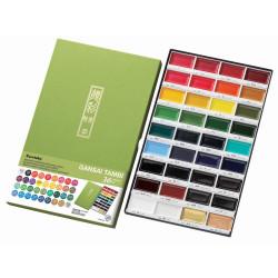 36 Color Set, Gansai Tambi -
