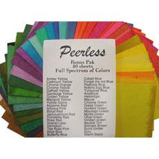 Small Bonus Pack - Set of 40, Peerless Watercolor -