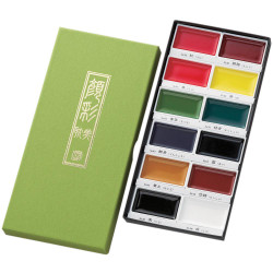 12 Color Set, Gansai Tambi -