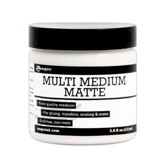 Ranger Multi Medium, Matte Jar, 3.8 oz. -