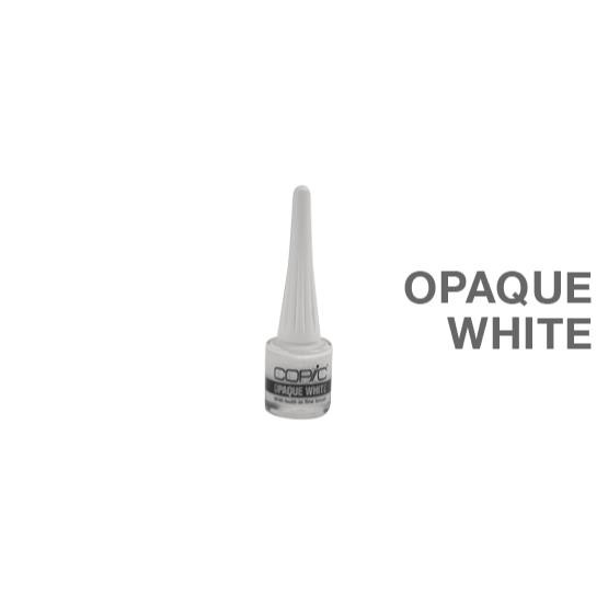 Opaque White with Brush, COPIC -