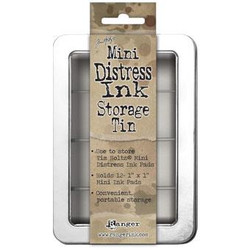 Ranger Mini Distress Ink Storage Tin -