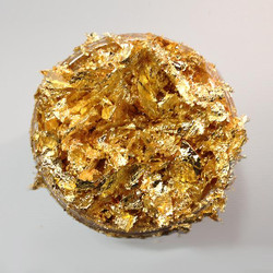 Golden Jewel- 200ml, Creative Expressions Cosmic Shimmer Gilding Flakes -
