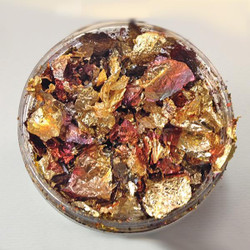Mulled Wine- 100ml, Creative Expressions Cosmic Shimmer Gilding Flakes -