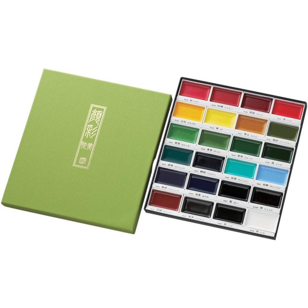 24 Color Set, Gansai Tambi -